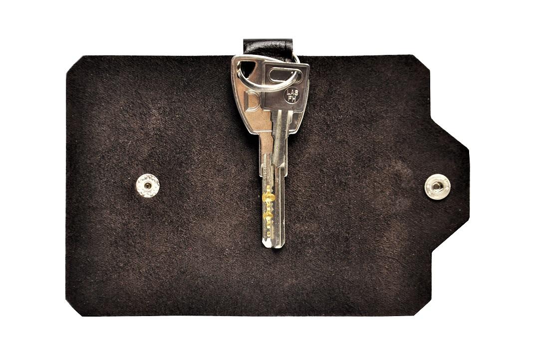 skorzane etui na klucze brazowe z kluczami maly