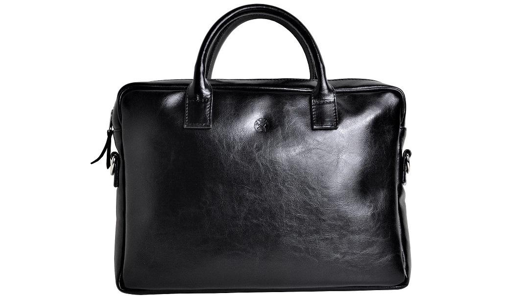 torba ze skory czarna front maly opisd