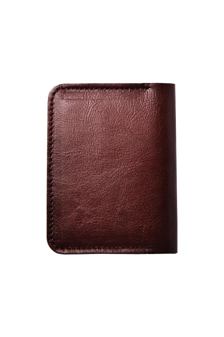 mały portfel ze skóry wizytownik cienki tył 1pg